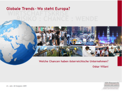 Globale Trends